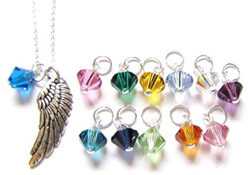 Archangel Angel Wing Sterling Silver Necklace 18 Gift Set