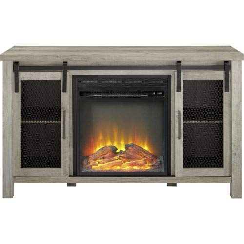 fireplace as tv stand - 5