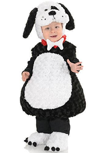 [Underwraps Baby's Puppy Belly-Babies, Black/White, Medium] (Matching Costumes For Mom And Baby)