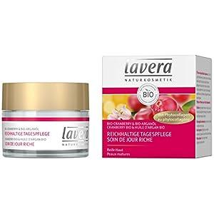 lavera Soin de Jour Riche Canneberge – Vegan – Cosmétiques naturels – Ingrédients végétaux bio – 100% naturel – Crème 50…