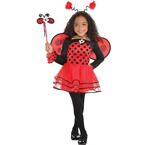 Amscan Girls Ballerina Ladybug Costume - Small (4-6) for $<!--$34.87-->
