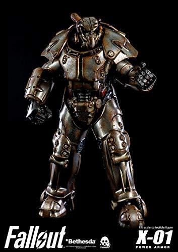 ThreeZero Fallout: X-01 Power Armor 1:6 Scale Collectible Figure, Multi-Color ()