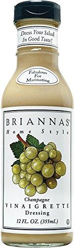 Brianna's Vinaigrette Dressing - Champagne Vinaigrette - 12 - Wine Dressing Vinaigrette