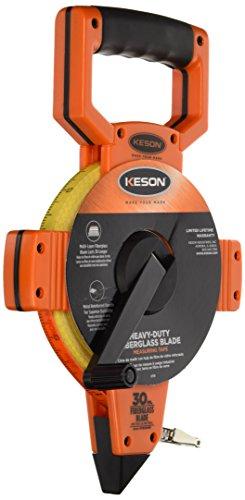 Keson OTR30MM Open Reel Fiberglass Tape Measure Reel (Graduations: 5mm & 2mm), 30-Meter