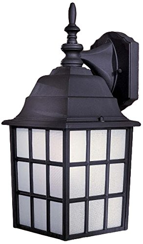 Minka Lavery Outdoor Wall Light 8718-66 Bridgeport Exterior Wall Lantern, 40 Watts, Black