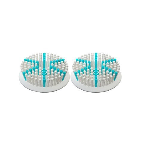 TAO Clean Orbital Facial Cleansing Brush Daily Care Replacement Head, 2-Pack