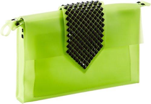 Saccess Dakula - Bolso de mano de material sintético mujer verde - Grün (green)