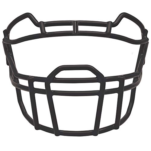 Schutt Sports VROPO DW Carbon Steel Vengeance Varsity Football Faceguard, Black