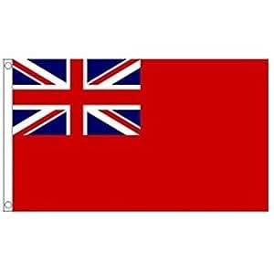 Red Ensign bandera.