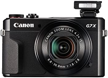 Canon PowerShot Digital Camera [G7 X Mark II] with Wi-Fi & NFC, LCD Screen, and 1-inch Sensor – Black, 100 – 1066C001 41vmjFiZDdL