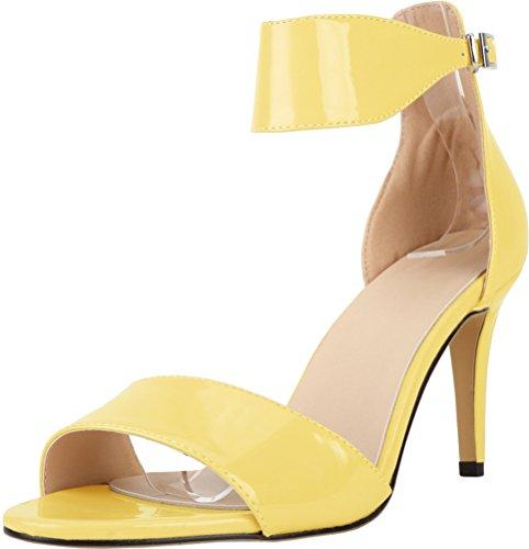 CFP - Zapatos de tacón  mujer amarillo