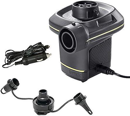 Intex 66634 - Inflador eléctrico con adaptadores 220-240V: Amazon ...