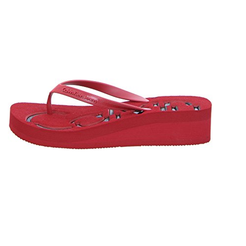 Calvin ref Jelly rouge Tongs jim43299 Klein Tamber RwxHR0