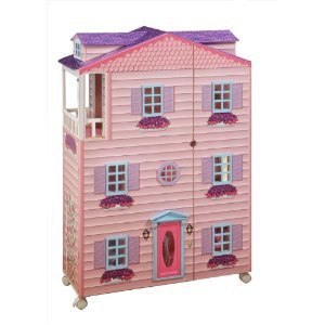 Teamson Kids York Mansion Doll House with Furniture