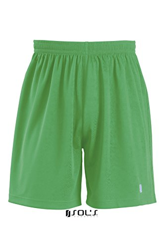 SOLS-SANSIRO2-Pantaloncini Sportivi Uomo-Colore Verde-Taglia XL