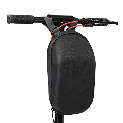 Seway Scooter Storage Bag, Electric Scooter Front Hanging Bag Durable EVA Fit for Carring Charger Tools, Compatible Sedway Mini Pro Ninebot Mini Xiaomi (Black)