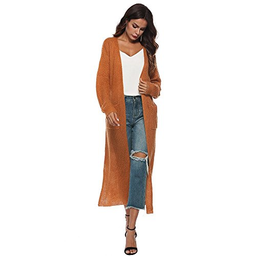 SMALLE ◕‿◕ Clearance, Women Autumn Long Sleeve Open Cape Casual Coat Blouse Kimono Jacket Cardigan by SMALLE (Image #4)