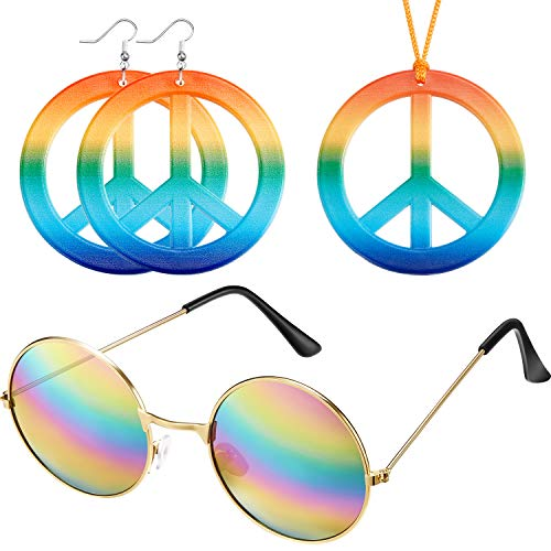 Cheap Dressing Up - Weewooday Hippie Dressing Up Accessory Set
