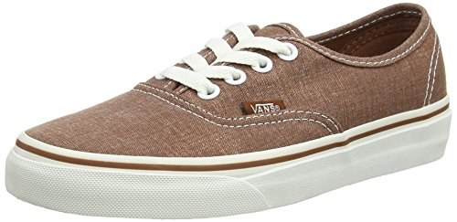 Vans Unisex-Erwachsene Authentic Outdoor Fitnessschuhe Braun - marron (Washed - Brown)