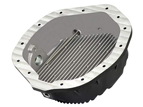 (aFe Power 46-70012 Dodge and GM Diesel Rear Differential Cover (Machined; Pro Series))