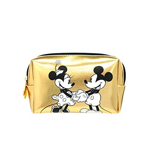 (Make-up Bag Girl Women Mickey Mouse Gold Coin Case Wallet Storage)