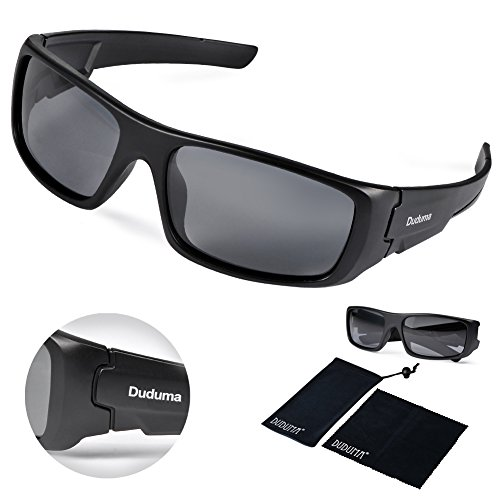 Duduma Tr601 Polarized Sports Sunglasses for Baseball Cycling Fishing Golf Superlight Frame
