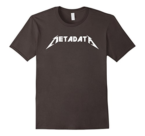 Metadata T-Shirt Funny Nerd Shirt for Geeks and SEOs