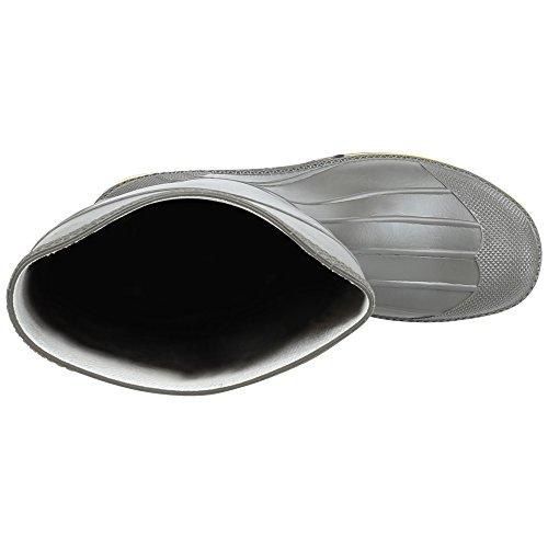da lavoro giallo Servus acciaio chimici PVC resistente grigio e inossidabile in agli 15 agenti Stivali 75101 in Pro nero wqCfxg