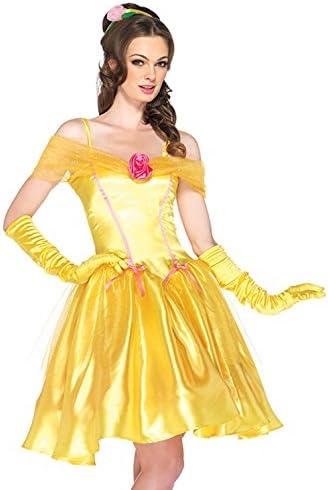 Burlesque Box – Disfraz para Mujer de Princesa Bella Sexy (12 – 14 ...