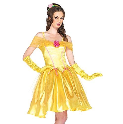 Burlesque Box - Disfraz para mujer de princesa Bella sexy ...