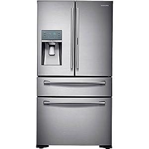 Samsung RF22KREDBSR/RF22KREDBSR/AA/RF22KREDBSR/AA RF22KREDBSR 22.4 Cu. Ft. Stainless French-FoodShowcase Door Counter Depth Refrigerator