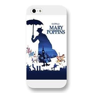 fashion case Customized White Hard Plastic Disney Cartoon Mary Poppins iphone 6 plus case cover cTBdT0F922g WANGJING JINDA