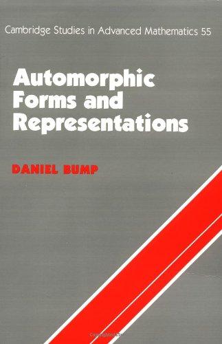 Automorphic Forms & Representations (Cambridge Studies in Advanced Mathematics)