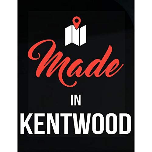 Kentwood Shield - Inked Creatively Made in Kentwood City Funny Gift - Sticker