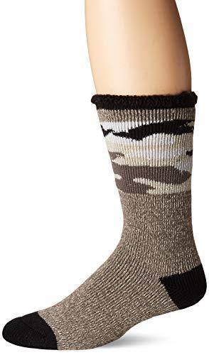 MUK LUKS Mens Heat Retainer Thermal Socks