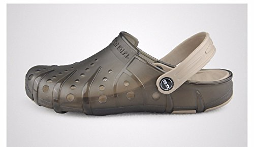 Autunno Il pattino dei nuovi uomini calza i pattini casuali Scarpa respirabile della spiaggia Grande testa Scarpa sandali antisdrucciolevole due, sandali britannici = 7,5, EU = 41 1/3