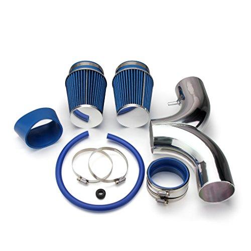 Air Ram Corvette - AutoHorizon Dodge Ram Dakota Chevrolet Corvette Cold Air Intake Pipe Kit Set (Blue Filter)