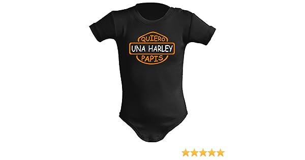 Body bebé unisex Quiero una Harley papis. Parodia. Regalo original ...