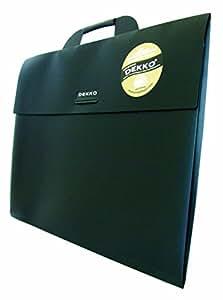 Dekko - Portafolios A3 con entretela, color negro