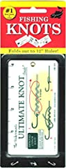 Fisherman's Ultimate Knot GuideThe waterproof portable fishing knot guide - 12 inch ruler too! With over one million knot cards sold, John Sherry is a highly respected and trusted author of knot references. This Fisherman's Ultimate Knot Guid...