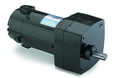 Leeson Parallel Shaft 1/17 hp, 300 RPM 90VDC Electric Gear Motor # M1125006