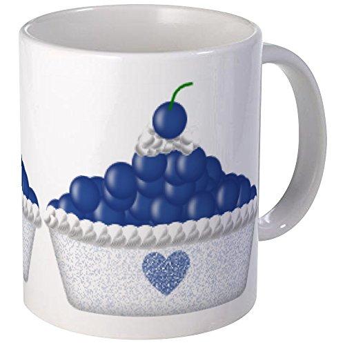 CafePress - Blueberry Delight Mug - Unique Coffee Mug, Coffee Cup