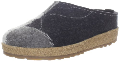 Haflinger Womens Puzzle Shoe Charcoal
