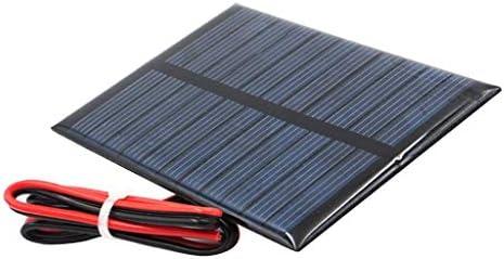 LOVIVER Mini Power Kleine Polykristalline Solarzelle Panel Modul Für DIY Solar - J 5,5 V 80x55mm