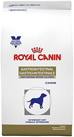 Royal Canin Veterinary Diet Canine Gastrointestinal Fiber Response Dry Dog Food, 17.6 lb