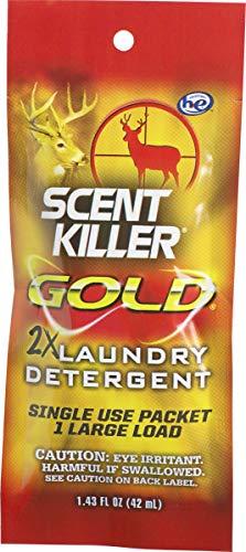- Scent Killer Gold Single Use Laundry Detergent, 1.43 Fl oz