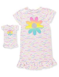 BFF & Me Girls' Nightgown with Doll Nightgown