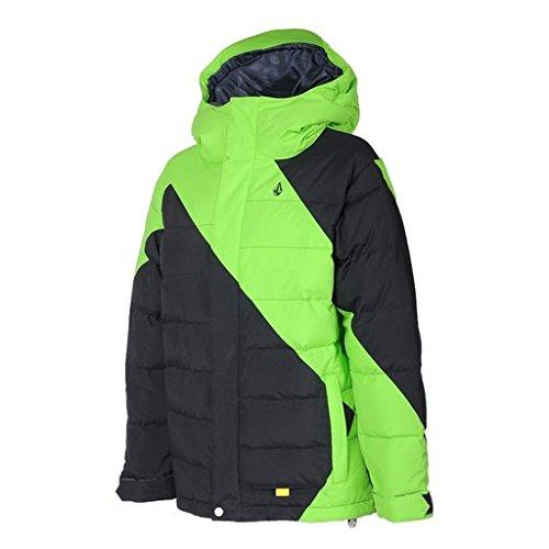 Volcom Big Boys' Arrow Down Puff Jacket, Lime, X-Large