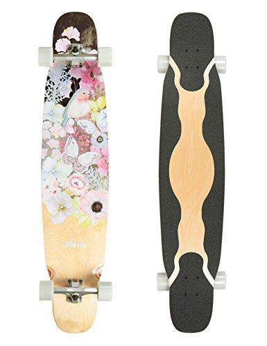 VOLADOR 46inch Dancing Longboard Maple Deck (Pinkwood)