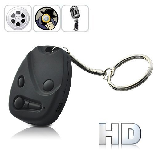 HD 720P USB Rechargeable Digital Video Recorder Spy Camera (Keychain Car Remote Style) by Online-Enterprises [並行輸入品] B01KBRAV3M